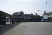 Den nye busterminal (rutebilstation)