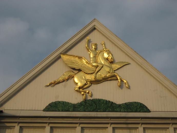 Pegasus og ynglingen