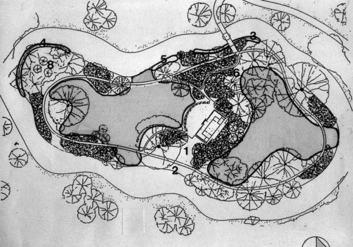 Plan af den kinesiske ø