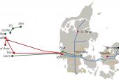Det danske transportsystem for naturgas