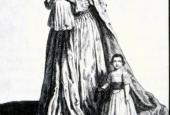 Dronning Caroline Mathilde med sine børn 1771