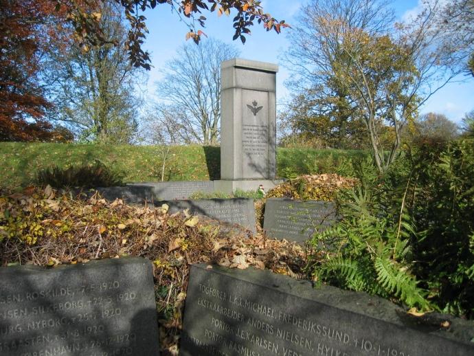 Monumentet på DSB s Mindelund