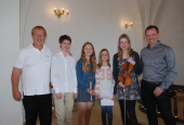 """Kim Sjøgren med """"Violin banden"""""""