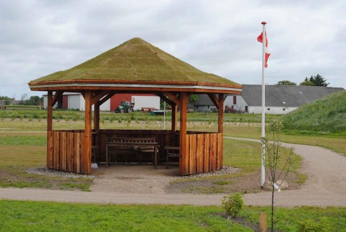 pavilloner i Oasen