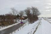 Vinter på diget ved Kramnitze