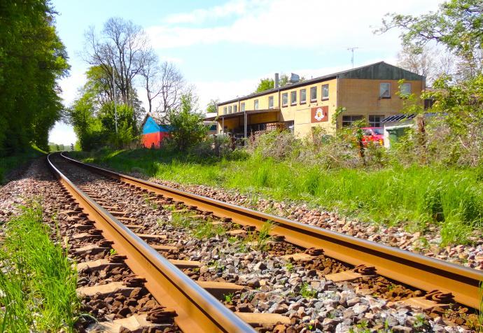 Svendborgbanen og bryggeriet