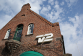 Indgang og portbygning ved TV 2