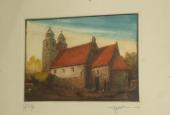 Tveje Merløse Kirke, farvekridt