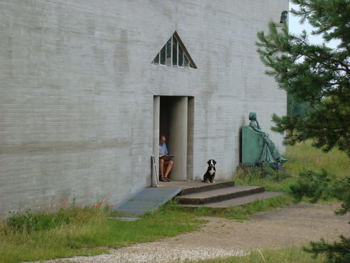 Indgang til museet