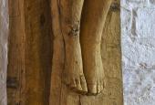 Astrid Noack's crucifix at Løgumkloster Refugium