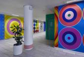 Poul Gernes' decoration in the foyer of Herlev Hospital
