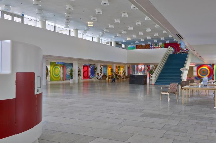 Poul Gernes' udsmykning af forhallen på Herlev Hospital
