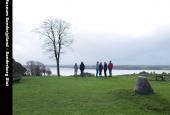 Skanse 4 på Dybbøl Banke med kig mod Broagerland