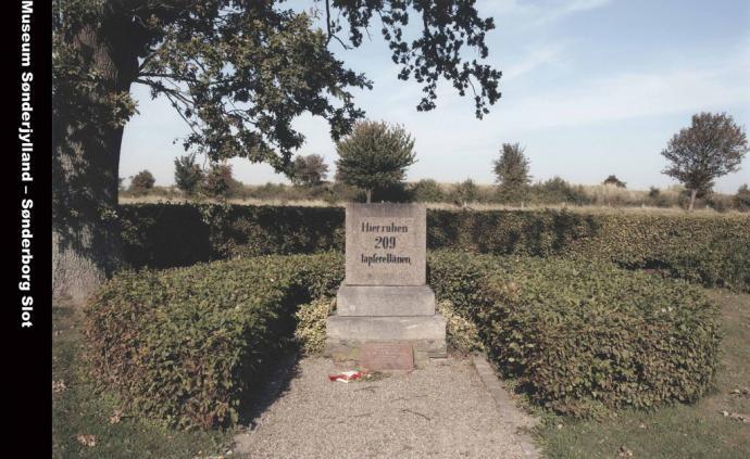Dansk fællesgrav på Dybbøl Banke