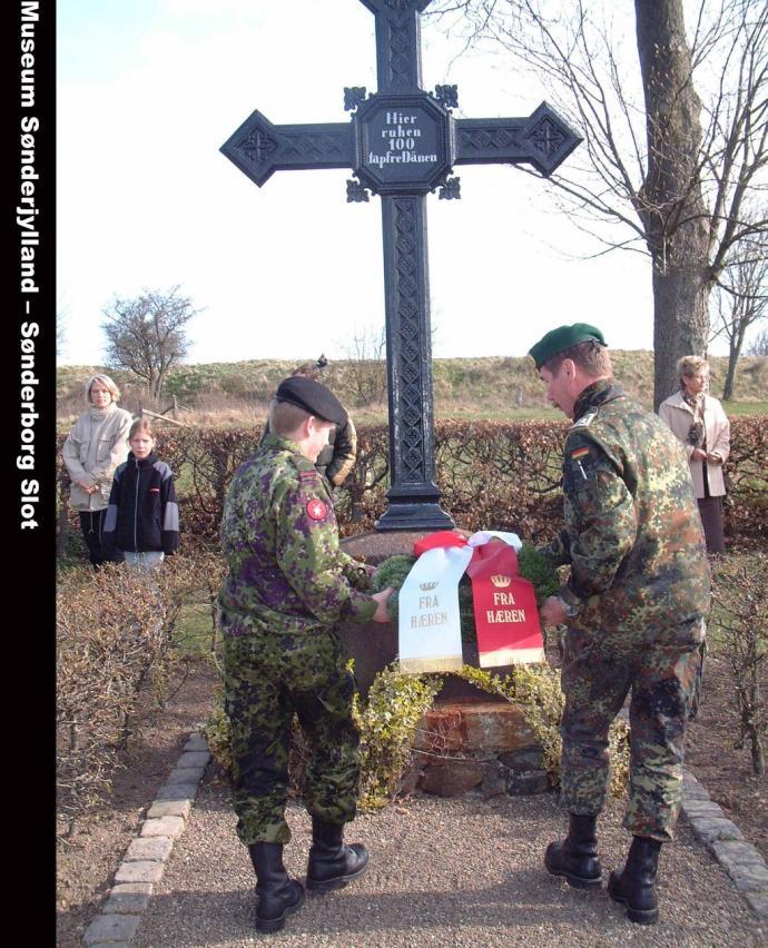 Dansk-tysk kransenedlæggelse på Dybbøl