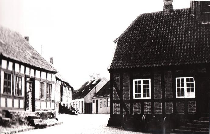 Hjørnet af overgade og Ebeltoft torv