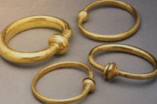 Bronzealder Edsringe fundet ved Remset i Ny Stenderup