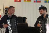 Stig Larsen og Dean Delgiusto