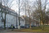 Esplanaden med træer
