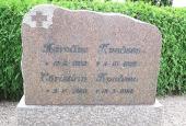 Christian og Karolines gravsten