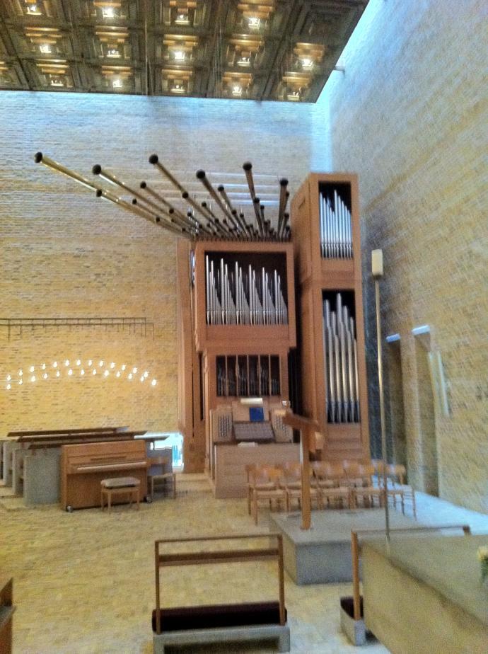 Orgel fra Nørrelands kirke