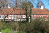 vagt hus ved slot