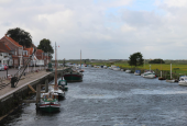 kanalen ind i Ribe