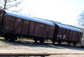 Lukket godsvogne
