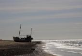 Skib på strand