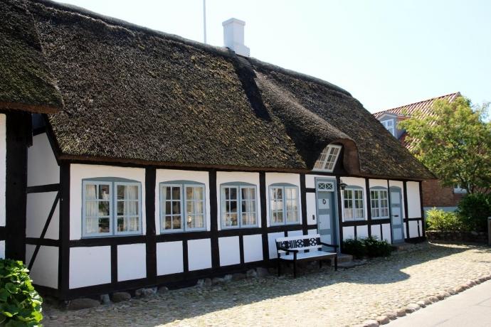 gamle hus i Nordby