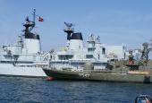 Museumsskibe på Holmen