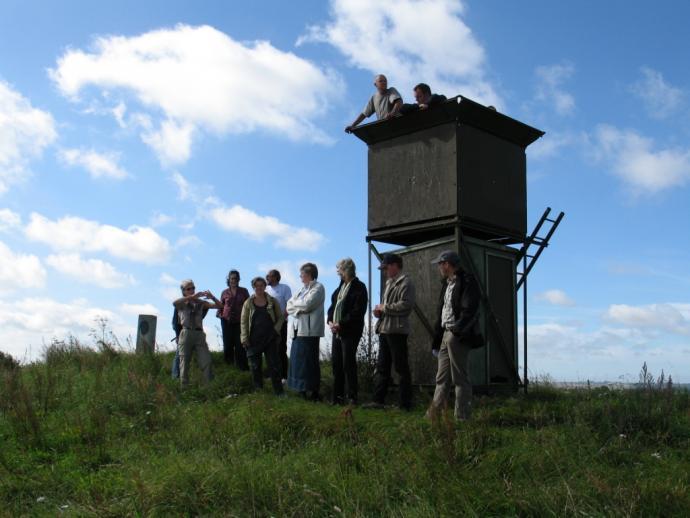 Luftmeldetårnet ved Knøsen