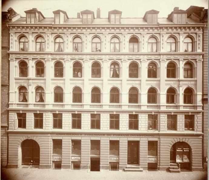 Forsamlingsbygningen i Rømersgade