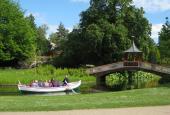 Frb. Have, den kinesiske bro (m. båd)