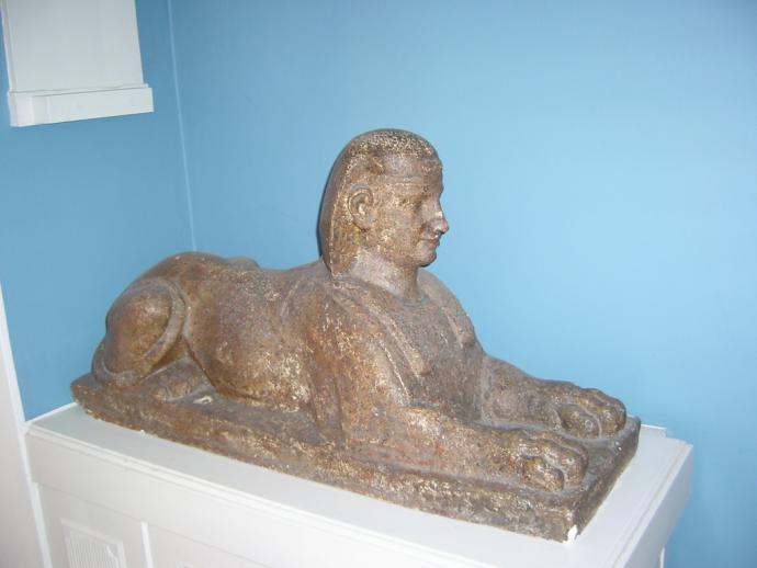 Sfinx i vestibulen