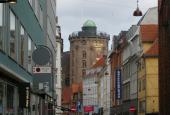 Rundetårn set fra Krystalgade