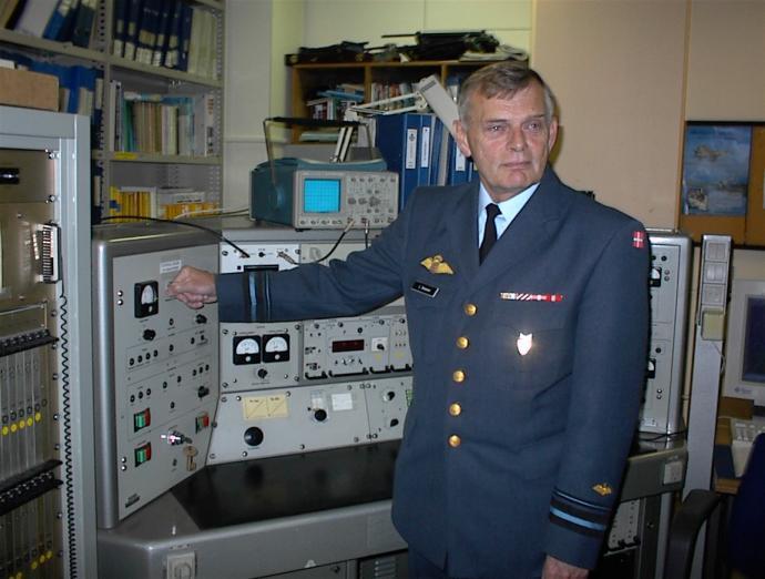 Generalmajoren slukker for radaren