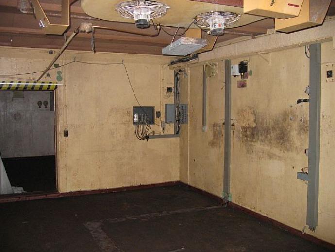 Stevnsfortet, det gamle O-rum