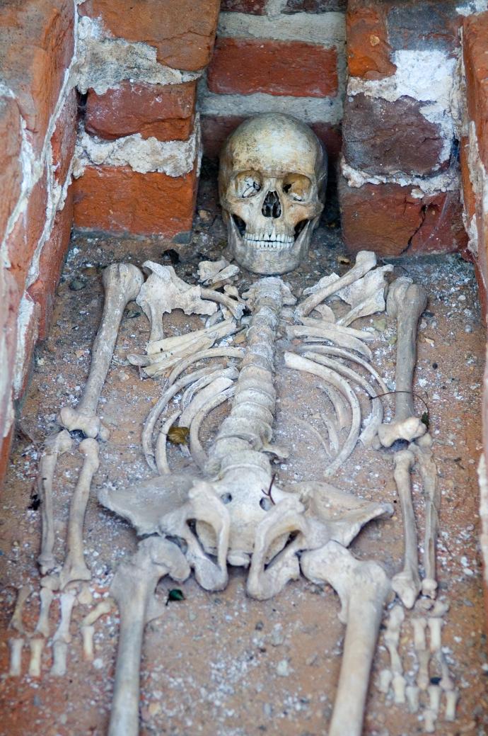 middelaldergrav fra Øm Kloster