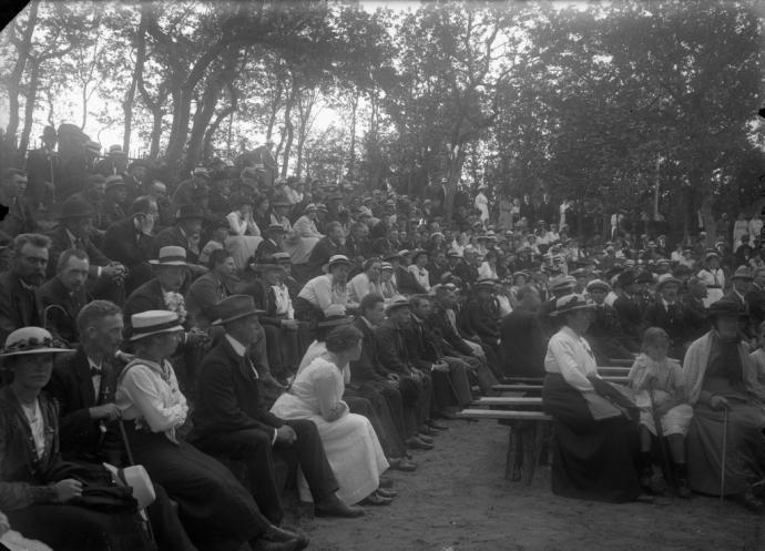 Grundlovsmøde ca. 1910