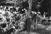 Grundlovsmøde i Skibelund Krat 1966