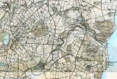 Kort over Gudme-Lundeborg