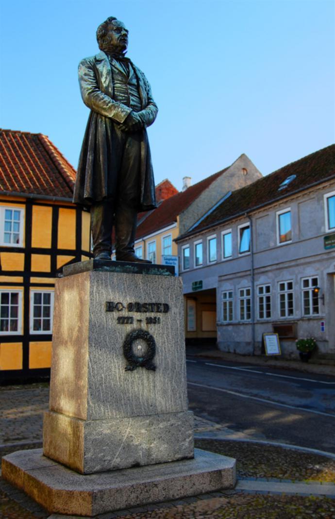 Statue af Hans Christian Ørsted