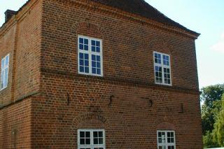 Halsted Kloster gavl
