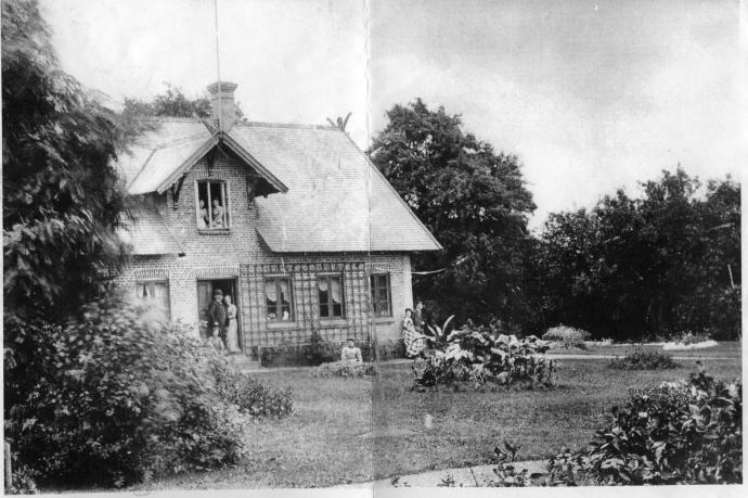 Havehuset for mere end 100 år siden