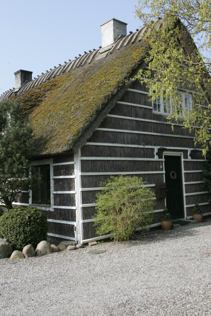 Fiskerhus i Hesnæs