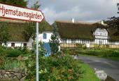 Vejviser til Hjemstavnsgården i Gummerup