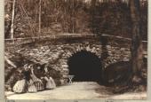 Familien Høffding ved Kildegrotten