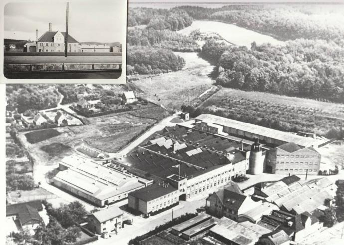 Tommerup Hørfabrik ca. 1960