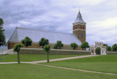 Hornslet Kirke på afstand